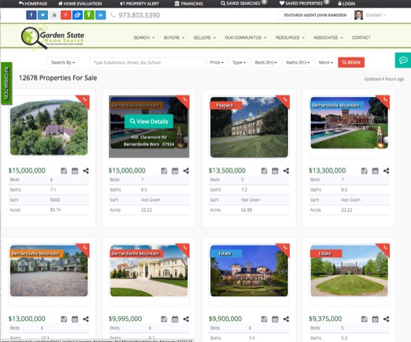 Real Estate Web Template 4